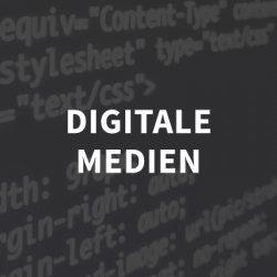 kachel digitale medien grau